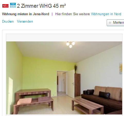 charmante wohnung in gie en gegen wohnungsbetrug against rental scammers. Black Bedroom Furniture Sets. Home Design Ideas