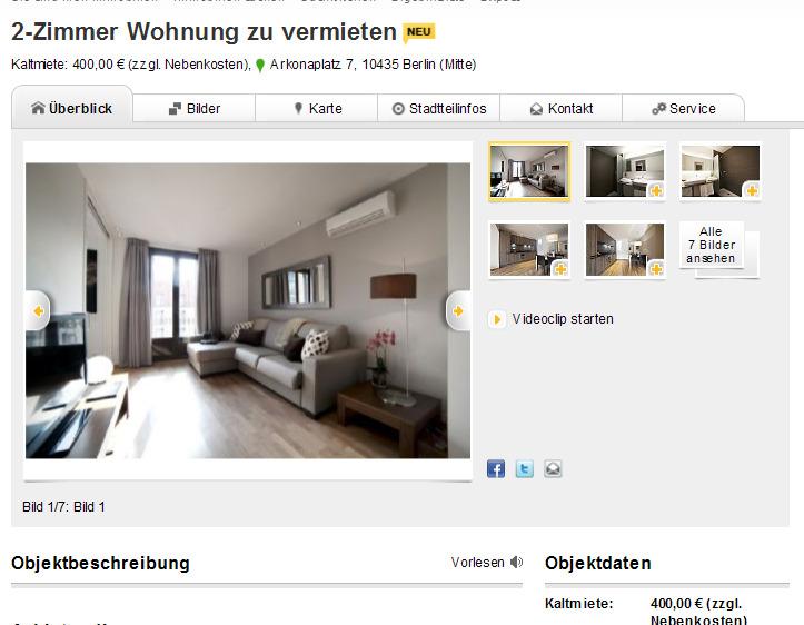 2 zimmer wohnungstraum in einer ersten adresse gegen wohnungsbetrug against rental scammers. Black Bedroom Furniture Sets. Home Design Ideas
