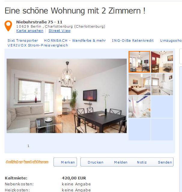 sehr g nstige wohnung mit 2 zimmern 65 m greifenhagener. Black Bedroom Furniture Sets. Home Design Ideas
