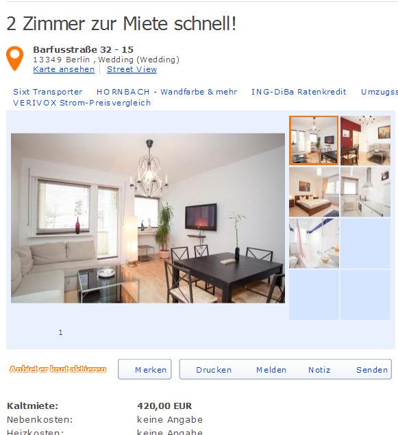 Zu vermieten eine sch ne wohnung mit 2 zimmern spitzm hler stra e 6 9 12685 berlin gegen - 6 zimmer wohnung berlin ...