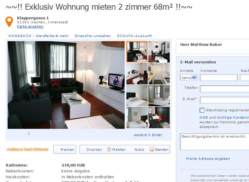 zenkerstra e 11 91052 erlangen gegen wohnungsbetrug. Black Bedroom Furniture Sets. Home Design Ideas