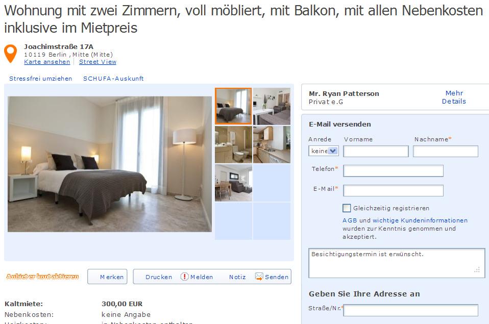 wohnung mit zwei zimmern voll m bliert mit balkon mit allen nebenkosten inklusive im mietpreis. Black Bedroom Furniture Sets. Home Design Ideas
