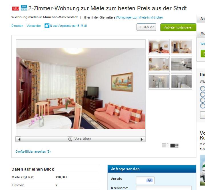 Wohnung Voll Mit 2 Zimmern Eingerichtet Hamburg