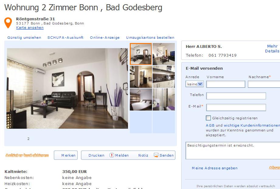 wohnung 2 zimmer rostock stadtmitte baleckestr 6 18055 rostock gegen wohnungsbetrug against. Black Bedroom Furniture Sets. Home Design Ideas