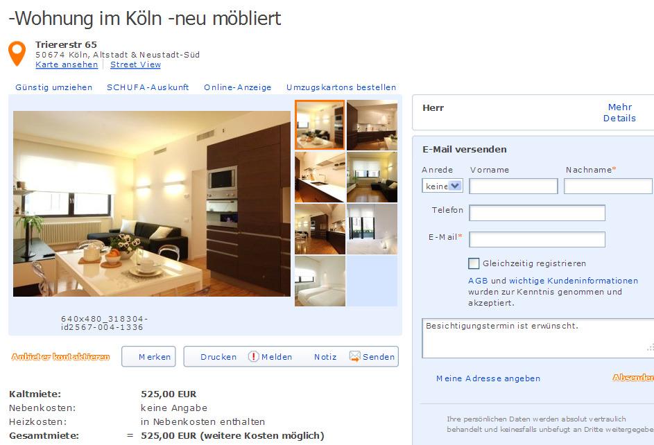 kaiser friedrich ring 74 65185 wiesbaden gegen wohnungsbetrug against rental scammers. Black Bedroom Furniture Sets. Home Design Ideas