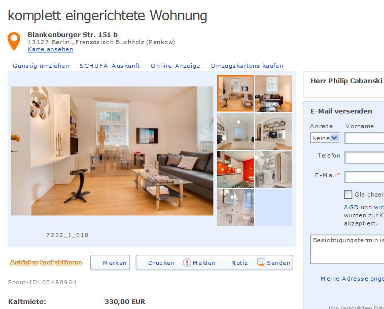 alias electronic engineer mariah fox gegen wohnungsbetrug against rental scammers. Black Bedroom Furniture Sets. Home Design Ideas