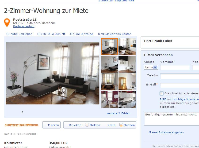 2 zimmer wohnung eingerichtet gilbertstra e 11 54290 trier gegen wohnungsbetrug against. Black Bedroom Furniture Sets. Home Design Ideas