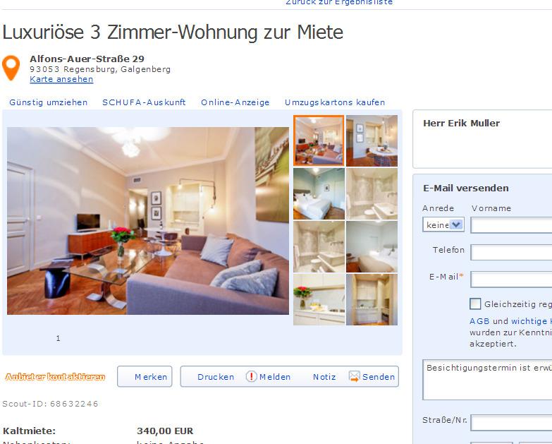 Erikmuller304 alias herr erik muller luxuri se 3 for Wohnung zur miete